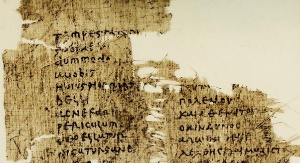 parchment fragment